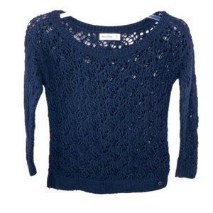 abercrombie kids Shirts & Tops - 5/$35 Abercrombie Kids Crocheted Knit Sweater - M